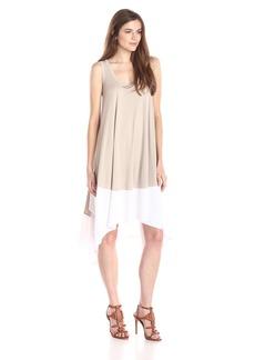 BCBG Max Azria BCBGMAXAZRIA Women's Mylene Handkerchief Hem Knit Dress