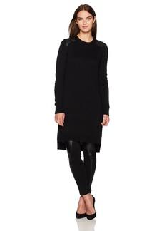 BCBG Max Azria BCBGMAXAZRIA Women's Naty Knit Tunic Sweater Top  M