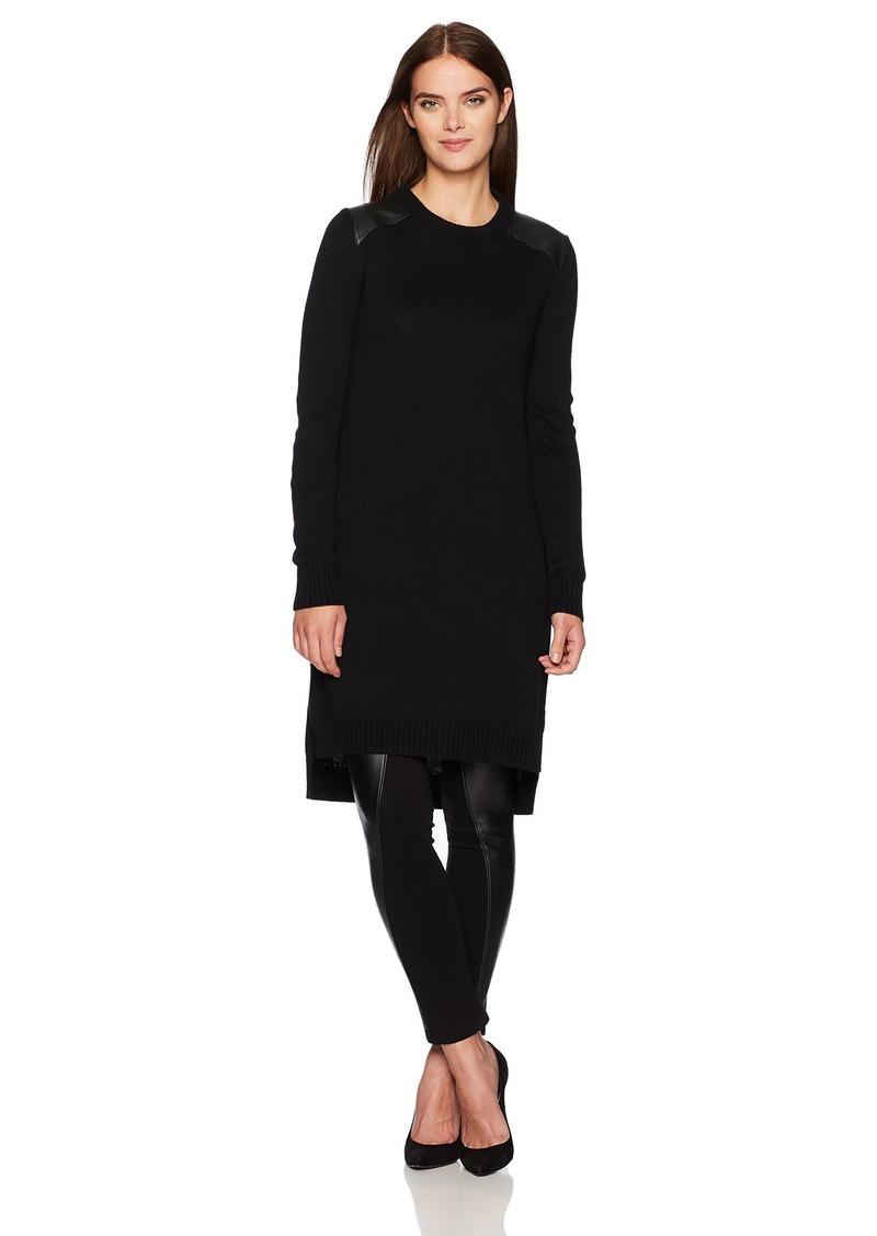 BCBG Max Azria BCBGMAXAZRIA Women's Naty Knit Tunic Sweater Top  XS