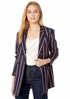 BCBG Max Azria BCBGMAXAZRIA Women's Nautical Striped Blazer  XXS