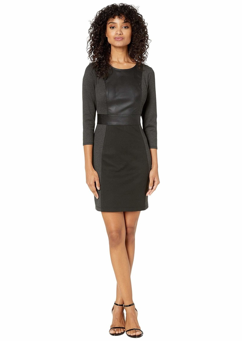 BCBG Max Azria BCBGMAXAZRIA Women's Paneled Sheath Dress S