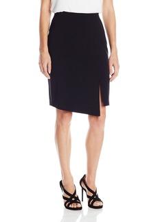 BCBG Max Azria BCBGMAXAZRIA Women's Pencil Skirt with Overlay