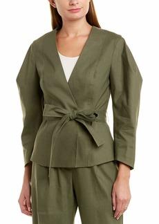 BCBG Max Azria BCBGMAXAZRIA Women's Puff Sleeve Wrap Jacket  XS