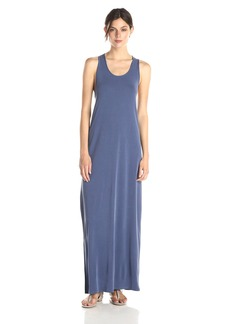 BCBGMAXAZRIA Women's Raeghan Twisted Back Tank Maxi Dress