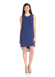 BCBGMAXAZRIA Women's Rainer Cascade Dress s