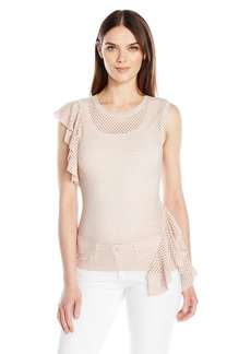 BCBGMAXAZRIA Women's Rowe Top  M