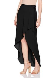 BCBG Max Azria BCBGMAXAZRIA Women's Roxy Woven Asymmetrical Skirt  M