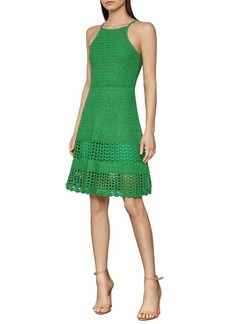 BCBG Max Azria BCBGMAXAZRIA Women's Short Sweater Day Dress  LG (US )