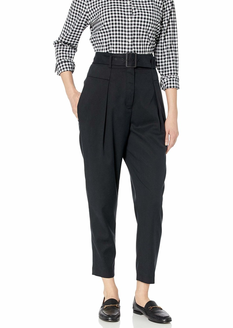 BCBG Max Azria BCBGMAXAZRIA Women's Single Pleated High Waist Pant  M