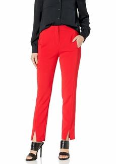 BCBG Max Azria BCBGMAXAZRIA Women's Slim Leg Trouser