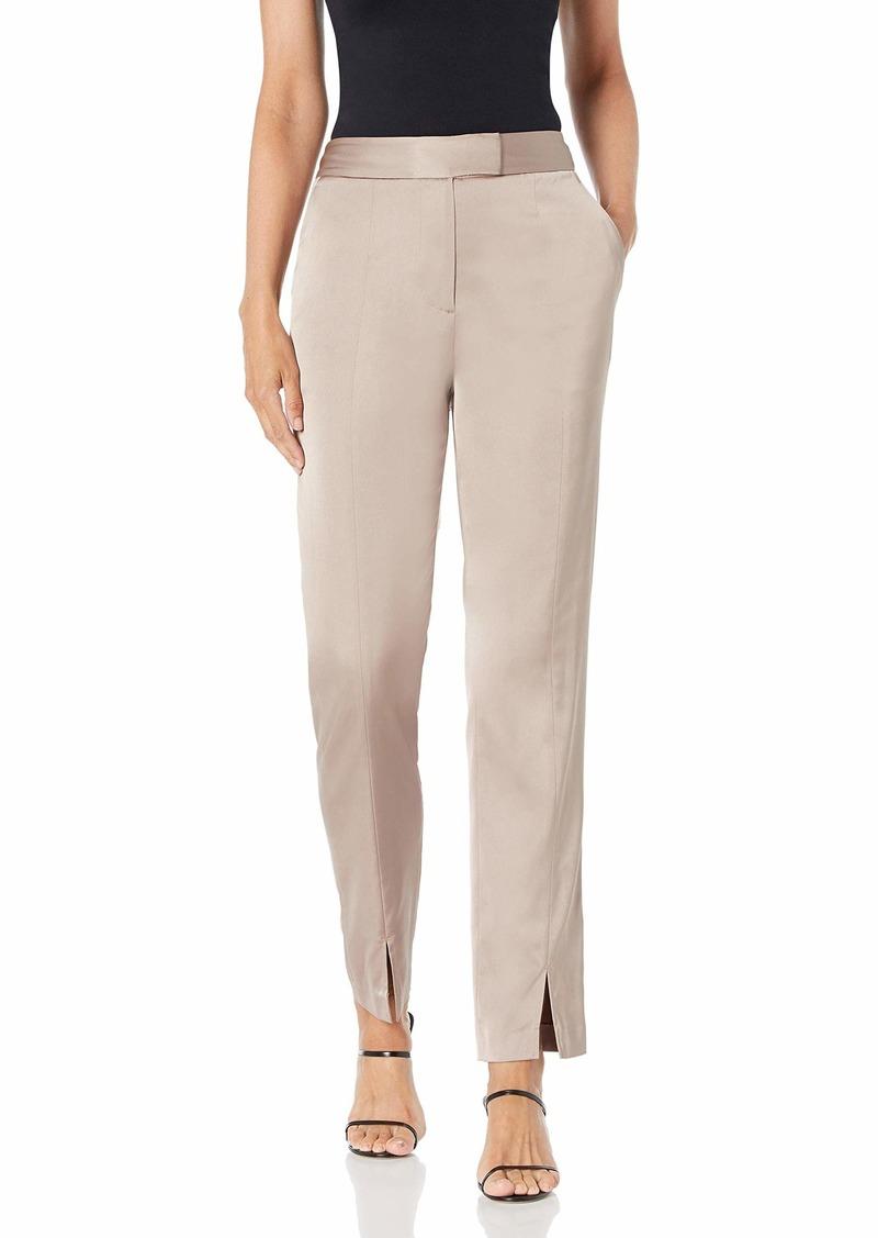BCBG Max Azria BCBGMAXAZRIA Women's Slit-Front Skinny Pant  LG (US )