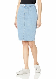 BCBG Max Azria BCBGMAXAZRIA Women's Stretch Denim Pencil Skirt