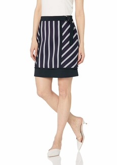 BCBG Max Azria BCBGMAXAZRIA Women's Striped Mini Skirt  XS