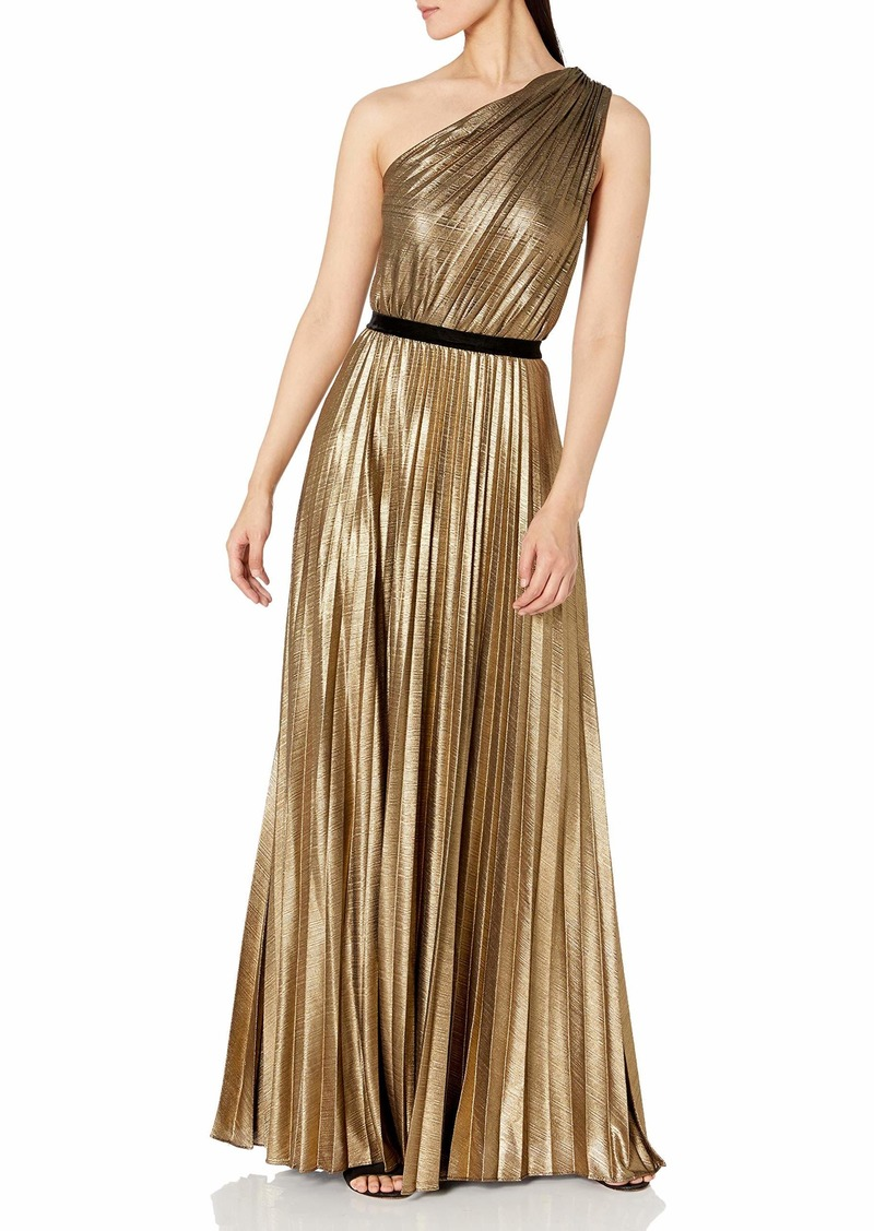 BCBG Max Azria BCBGMAXAZRIA Women's Sunburst Pleat Gown