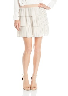 BCBGMAXAZRIA Women's Zana Pleated Skirt