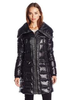 BCBG Max Azria BCBGMAXAZRIA Women's Zip Front Down Coat