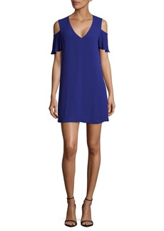 BCBGMAXAZRIA Woven Cocktail Dress
