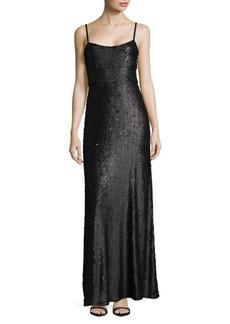 BCBGMAXAZRIA Woven Evening Dress