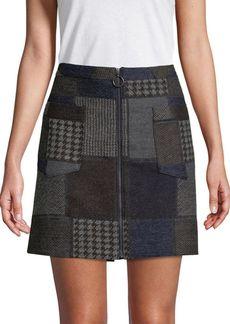 BCBG Max Azria Woven Mini Skirt