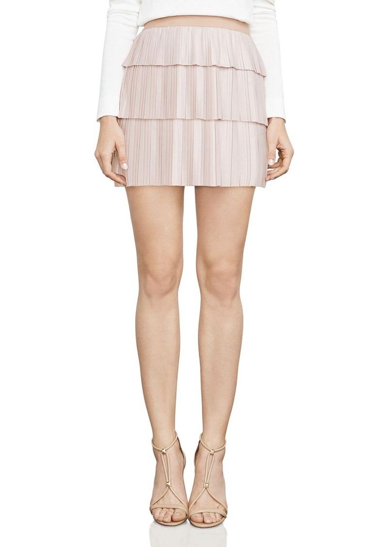 e551ae0419 SALE! BCBG Max Azria BCBGMAXAZRIA Zana Pleated Mini Skirt
