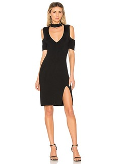 BCBG Max Azria BCBGMAXAZRIA Zoelle Cut Out Dress In Black