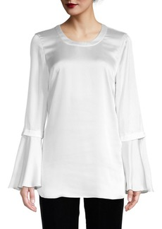 BCBG Max Azria Bell-Sleeve Top