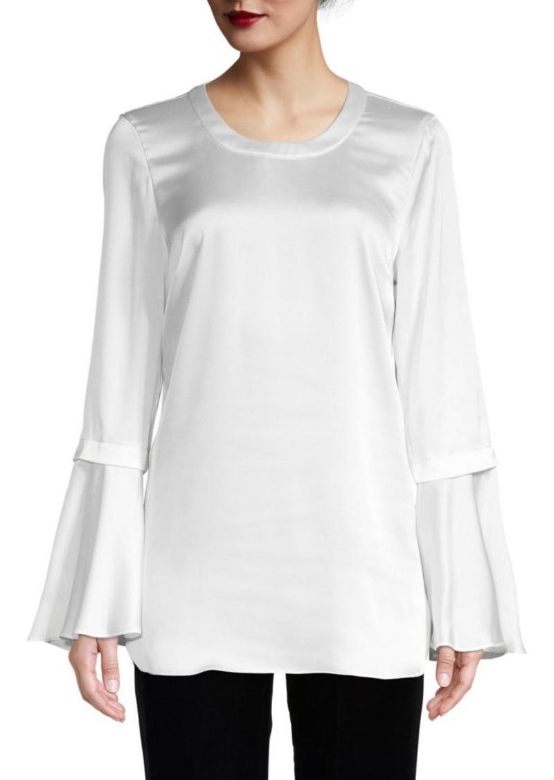 BCBG Max Azria Bell-Sleeve Top