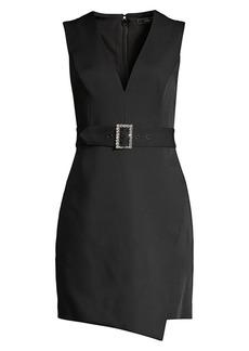BCBG Max Azria Belted Sleeveless Blazer Shift Dress