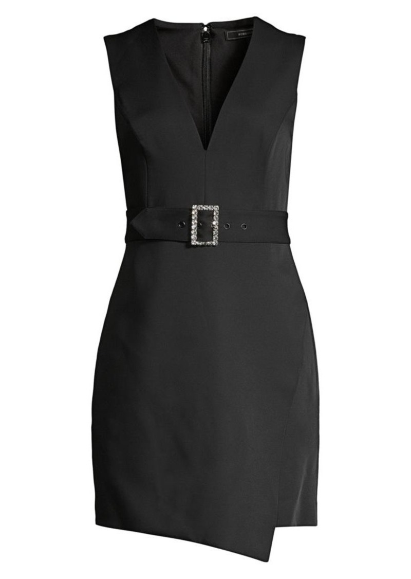 BCBG Max Azria Belted Sleeveless Blazer Shift Dress