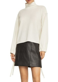 BCBG Max Azria Bishop Sleeve Turtleneck Sweater