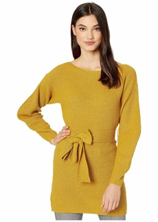 BCBG Max Azria Boatneck Long Sleeve Pullover Sweater