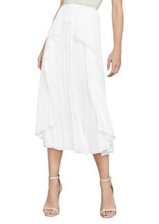 BCBG Max Azria Bre Pleated Midi Skirt