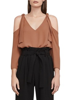 BCBG Max Azria Caralyne Cold-Shoulder Top