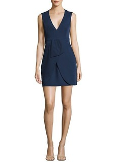 BCBG Max Azria Clare Draped Mini Dress