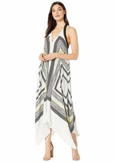 BCBG Max Azria Cocktail Long Woven Soft Dress