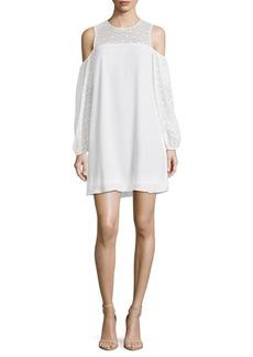 BCBG Max Azria Cold Shoulder Dress