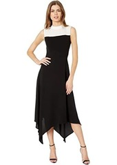 BCBG Max Azria Color-Block Dress
