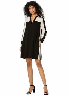 BCBG Max Azria Color Block Shift Dress