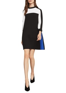 BCBG Max Azria Colorblock Shift Dress
