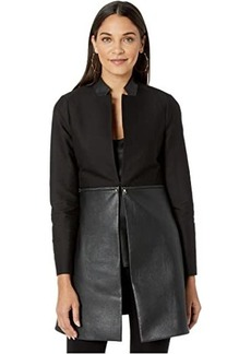 BCBG Max Azria Convertible Zip Jacket