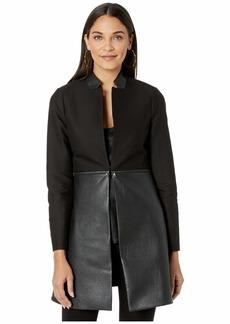 BCBG Max Azria Convertible Zip Jacket