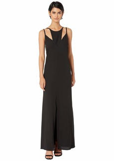 BCBG Max Azria Cut Out Maxi Dress