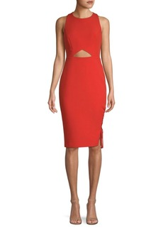 BCBG Max Azria Cut-Out Sheath Dress