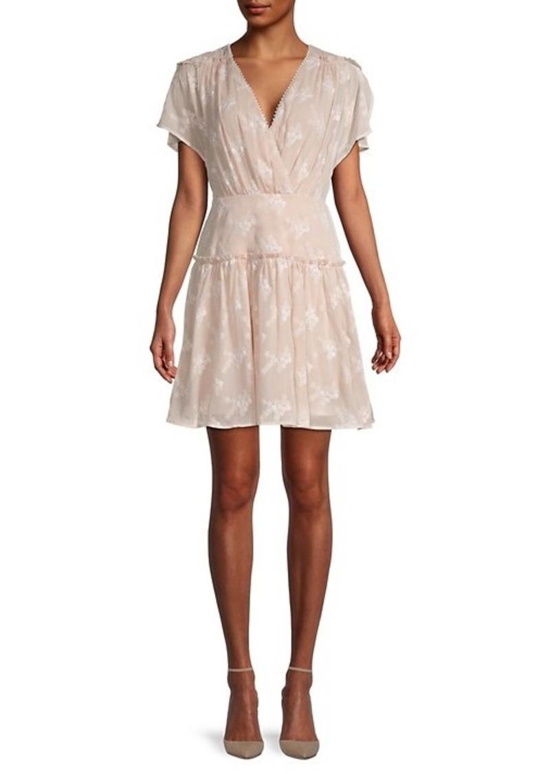 BCBG Max Azria Daisy Chiffon Dress
