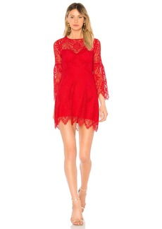Daniela Shirred Sleeve Dress