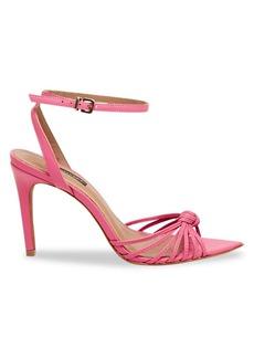 BCBG Max Azria Delia Leather Ankle-Strap Sandals