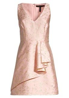 BCBG Max Azria Draped Fit-&-Flare Dress