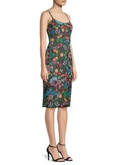 BCBG Max Azria Embroidered Bustier Dress