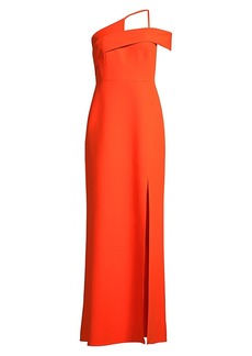 BCBG Max Azria Eva Asymmetric Column Dress