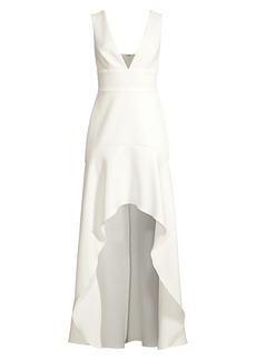 BCBG Max Azria Eve High-Low Dress